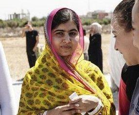 Nobel-winner Yousafzai opens school for Syrian girls on 'Malala Day'