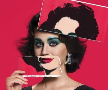 Katy Perry channels Elizabeth Taylor for Harper's Bazaar