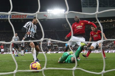 Manchester United shuts out Newcastle in Premier League