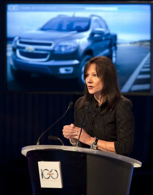 CEO Mary Barra at GM: 'We want to accelerate'