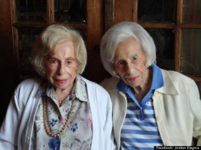 Oldest identical twins turn 103 [PHOTO]