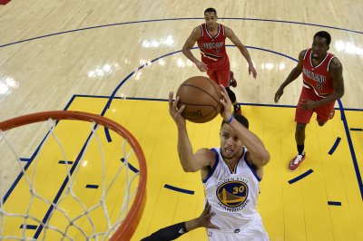 Stephen Curry, Golden State Warriors eliminate Trail Blazers, advance to Western Conference finals