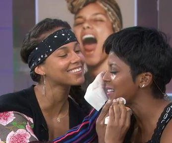 Alicia Keys' no makeup movement sparks 'Today' anchors to remove theirs