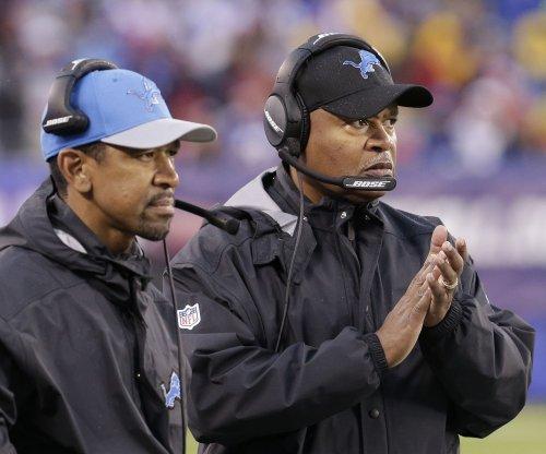 Detroit Lions coach Jim Caldwell deflects talk on job status