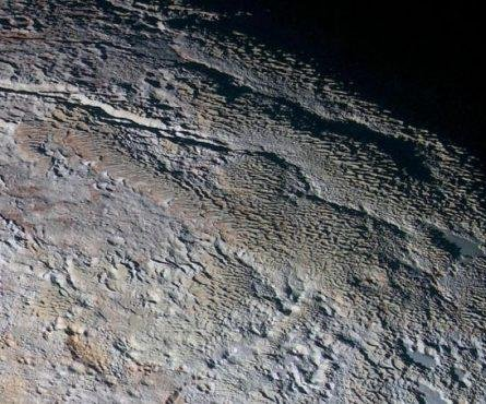 Scientists find 'penitentes' on Pluto