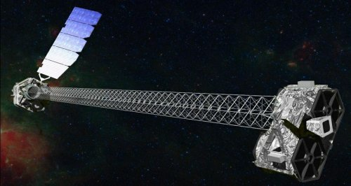 X-ray telescope mast successfully deployed