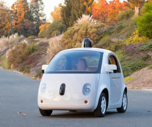 Google unveils the prototype for its first self-driving car