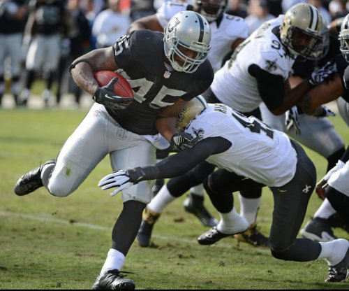 Oakland Raiders' Marcel Reece tries to explain failed drug test
