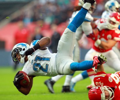 Detroit Lions RB Ameer Abdullah sidelined by shoulder surgery