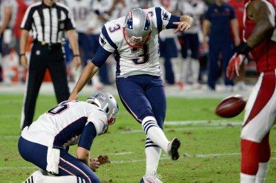 New England Patriots K Stephen Gostkowski (illness) misses practice
