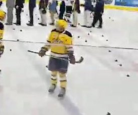 Pennsylvania hockey team bans cowbells after rowdy celebration