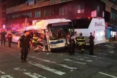 3 dead, 16 injured in NYC bus collision