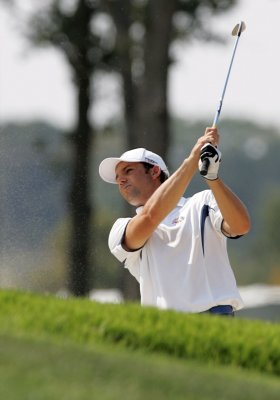 Garcia among leaders at Spain golf event