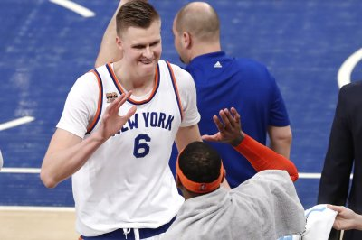 Kristaps Porzingis-led New York Knicks rally to defeat Brooklyn Nets