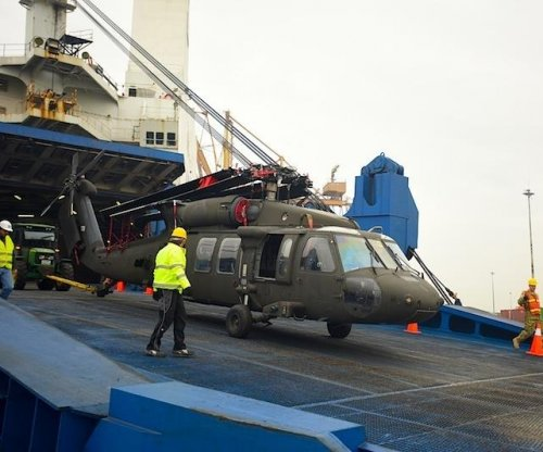 U.S. Army UH-60 Black Hawks reach Greece for NATO operation