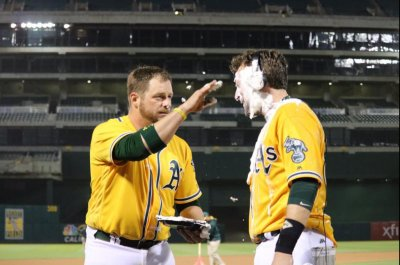 Third-straight walk-off win lifts surging Oakland Athletics past Los Angeles Angels