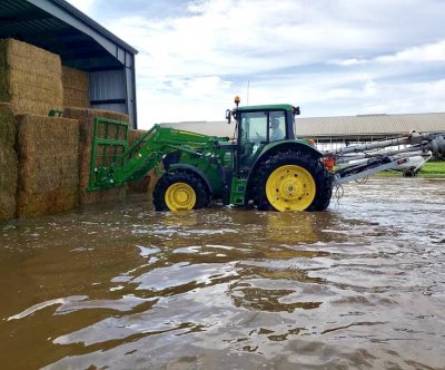 South Dakota farmers reeling from year's second record-breaking flood