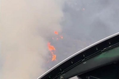 Thousands evacuate after fire breaks out near Camp Pendleton in California