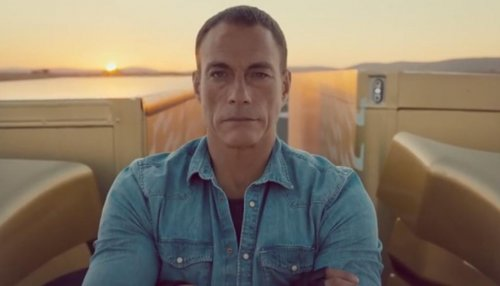 Jean-Claude Van Damme does epic split between two moving trucks [VIDEO]