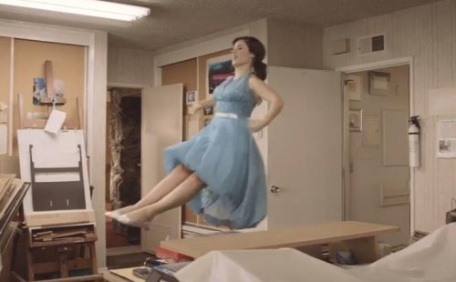 Zooey Deschanel dances alone in She & Him video for 'Stay a While'