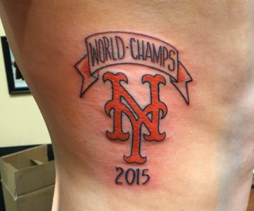 Mets fan doesn't regret premature '2015 World Champs' tattoo