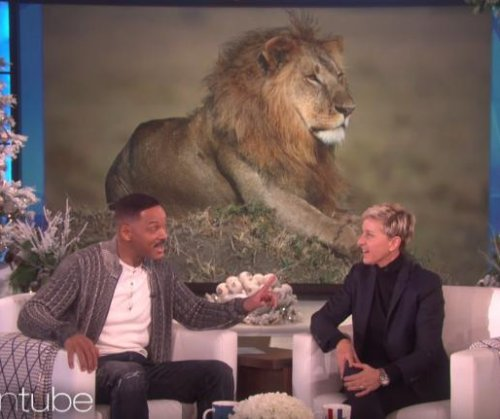 Will Smith says lions are living in his neighborhood on 'Ellen'