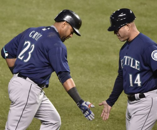 Ariel Miranda, Danny Valencia lead Seattle Mariners' rout of Los Angeles Angels