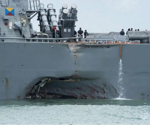 Navy officers fired over 'preventable' USS McCain collision