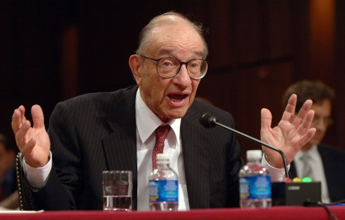 Greenspan talks on regulation