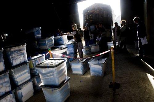 U.N. predicts Afghan presidential vote audit to take until Sept. 10