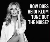 Heidi Klum ads for Sharper image too racy for Las Vegas airport