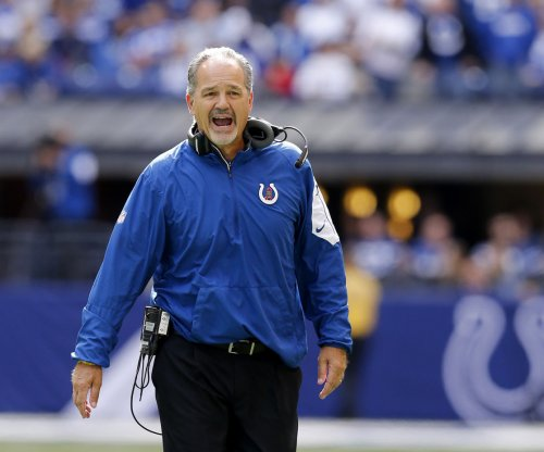 Indianapolis Colts coach Chuck Pagano likes competition he sees
