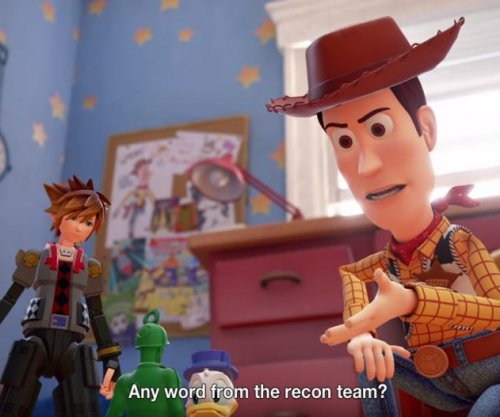 'Kingdom Hearts 3': Sora visits 'Toy Story' in new gameplay trailer
