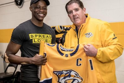 Waffle House hero James Shaw Jr. honored at Predators game