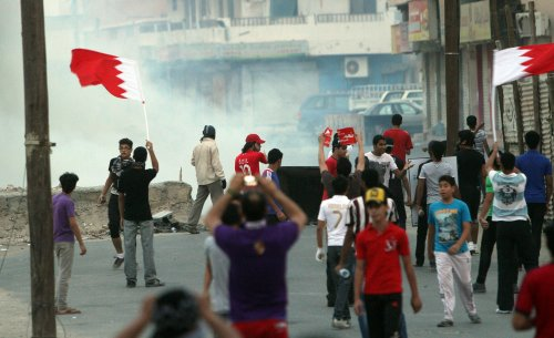HRW calls on Bahrain to free protesters
