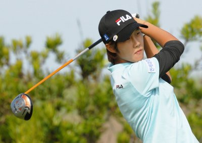 Kim Song-hee on top at LPGA Korean event