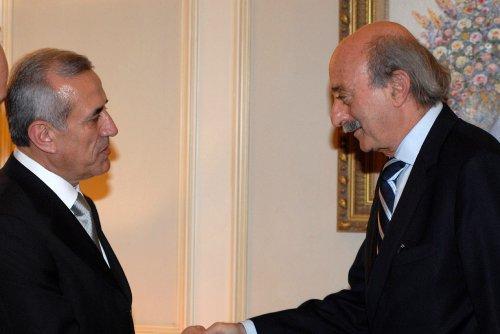 Lebanon Druze cozy with Syria again