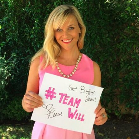 Reese Witherspoon channels 'Legally Blonde' role for boy with cancer