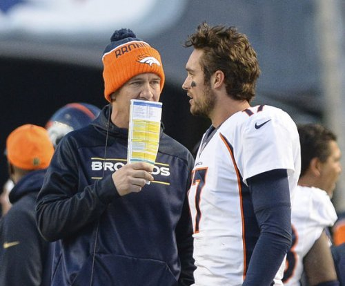 Denver Broncos hope to earn at least the No. 2 AFC playoffs seed