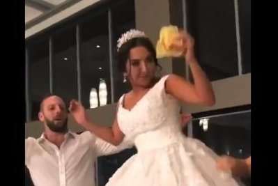 Couple treats wedding guests to 300 McDonald's burgers