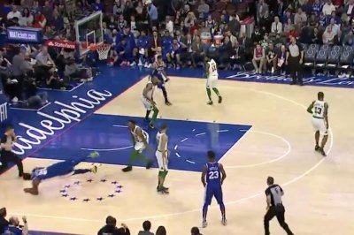 Celtics' Marcus Smart ejected for shoving Sixers' Joel Embiid