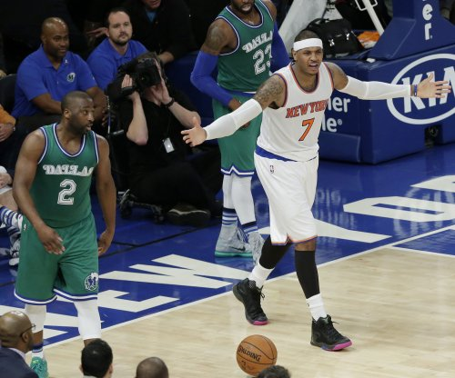 New York Knicks' Carmelo Anthony frustrated with team's pace