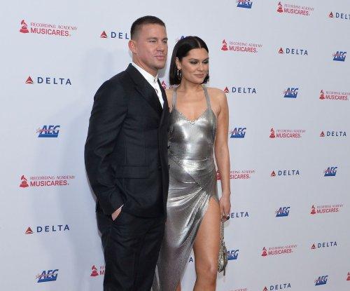 Channing Tatum, Jessie J walk red carpet for MusiCares concert