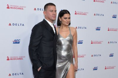 Channing Tatum, Jessie J walk red carpet for MusiCares concert