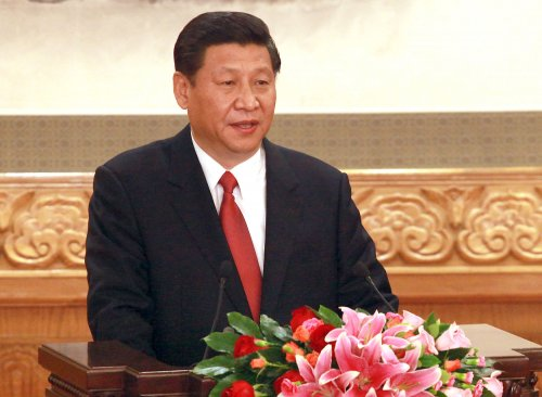 China's president calls for anti-terrorism 'nets spread from the earth to the sky'