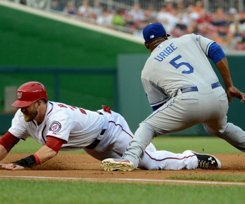 Washington Nationals, Los Angeles Dodgers game suspended as lights go out