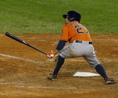 Jose Altuve hits two HRs, drives in six as Houston Astros maul Los Angeles Angels