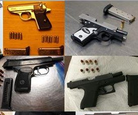 TSA says record 81 guns found in passengers' carry-on bags last week