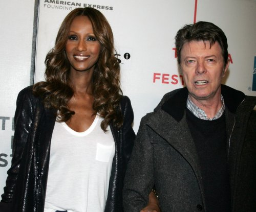 Iman remembers David Bowie one year after his death