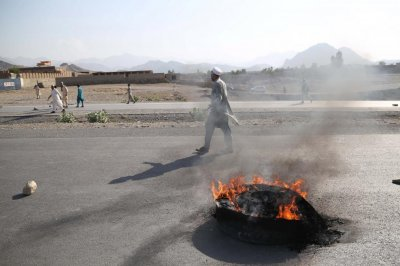 Suicide bomber kills at least 32 protesters in Afghanistan